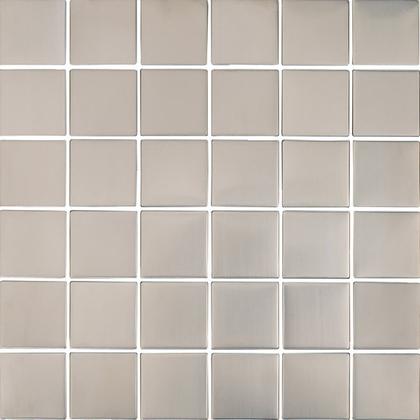 Stainless Medium Square Mosaic M2x2