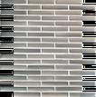 Stainless Edger Thin Brick Mosaic M1/2x4