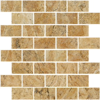 Ultima Brick Pattern Mosaics M1x2