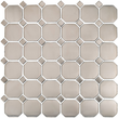 Stainless Octagon & Dots Mosaic M12OCT