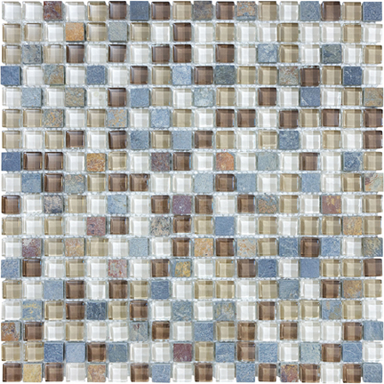 Amber Tea 5/8 Mosaics 12x12