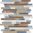 Amber Tea Random Strip Mosaics 12x12
