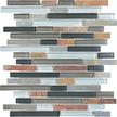 Smoky Mica Random Strip Mosaics 12x12