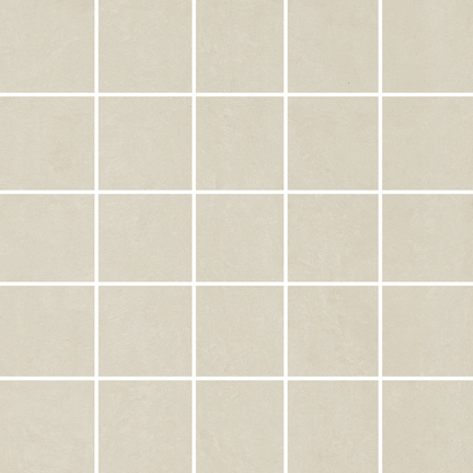 White Natural 25 Piece Mosaics M12