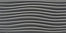 Gunmetal Wave Listellos 3x6