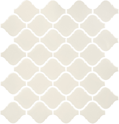 Biscuit Arabesque Mosaics (Gloss Finish) M12BULB