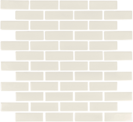 Biscuit Brick Mosaics (Gloss Finish) M1x3BRICK