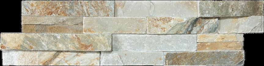 Ash Splitface Slate Ledgerstone 6x24