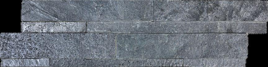 Graphite Splitface Slate Ledgerstone 6x24