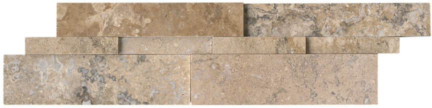 Picasso Honed Linear (vein cut) Ledgerstone 6x24
