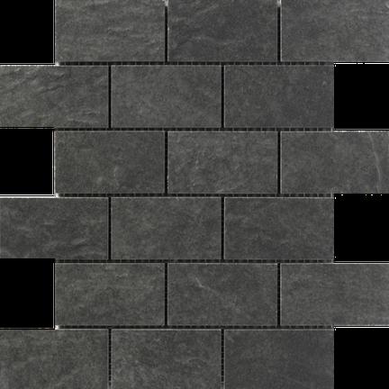 Flint Brick Mosaics M2x4