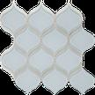 Truth Blue w/Pure White Arabesque Mosaics M12BLUB