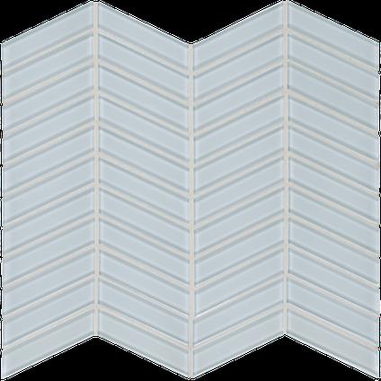 Truth Blue Chevron Mosaics M12CHEV