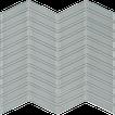 Quiet Gray Chevron Mosaics M12CHEV