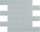 Calm Green Brick Mosaics M2x6BRICK