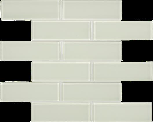 Content Cream Brick Mosaics M2x6BRICK