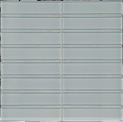 Quiet Gray Stack Mosaics M1.5x6STK