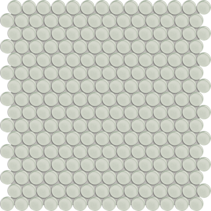 Content Cream Penny Round Mosaics M12PENNY