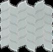 Calm Green Petal Mosaics M12PETAL