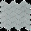 Quiet Gray Petal Mosaics M12PETAL