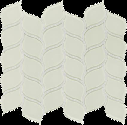 Content Cream Petal Mosaics M12PETAL