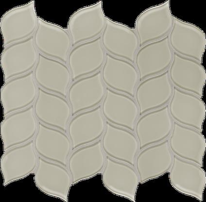Tranquil Tan Petal Mosaics M12PETAL