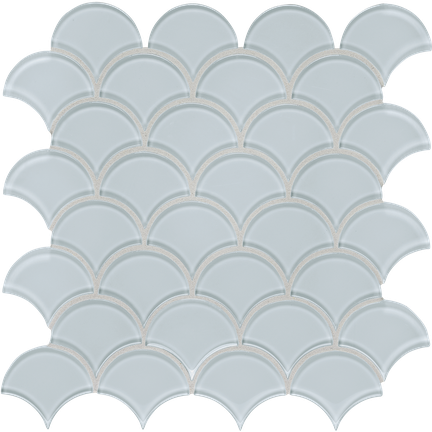 Truth Blue Scallop Mosaics M12SCP