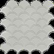 Balance Beige Scallop Mosaics M12SCP