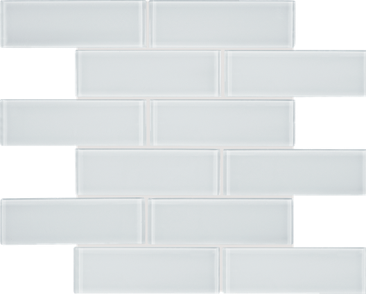 Pure White Brick Mosaics M2x6BRICK