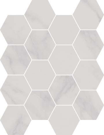 Honesty Hexagon Mosaics (Matte) M3x3HEX
