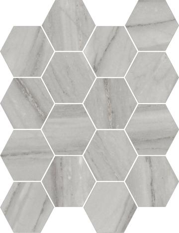 Beauty Hexagon Mosaics (Matte) M3x3HEX