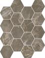 Charm Hexagon Mosaics (Matte) M3x3HEX