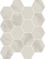 Honesty Hexagon Mosaics (Polished) M3x3HEX