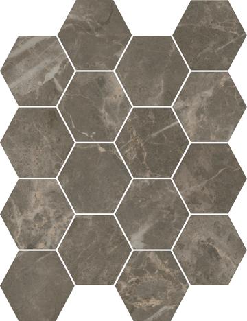 Charm Hexagon Mosaics (Polished) M3x3HEX