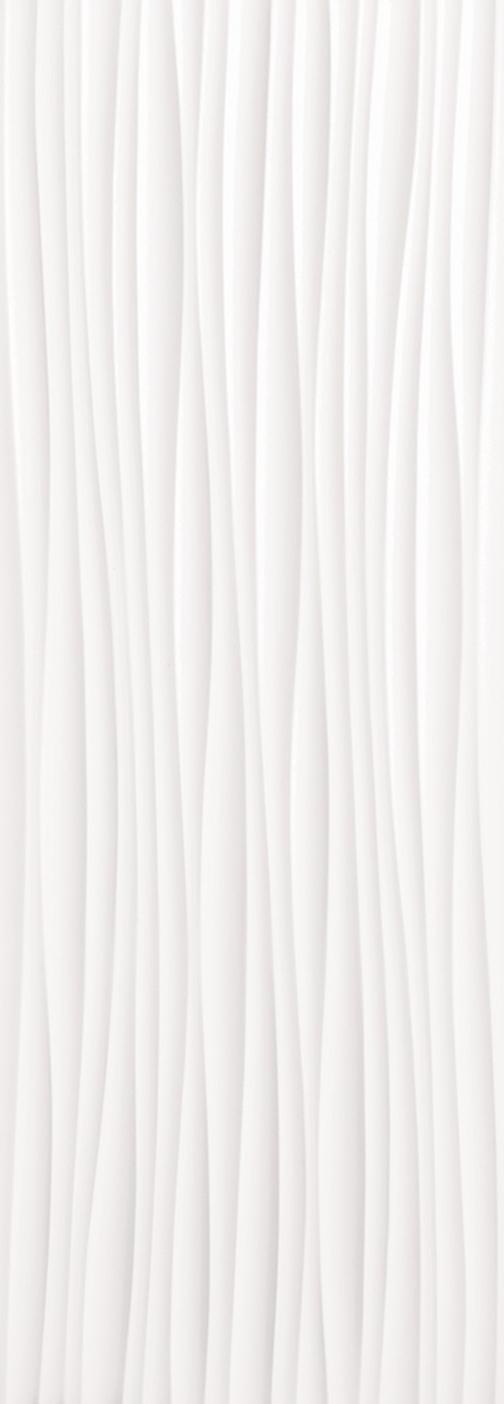 Wind White Matte Wall Tile 14x39