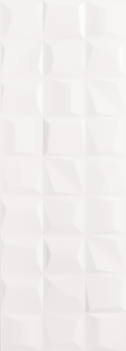 Rise White Matte Wall Tile 14x39