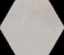 E. Houston Warm Gray Floor/Wall Tile (Waterjet Cut) 22.5x22.5HEX