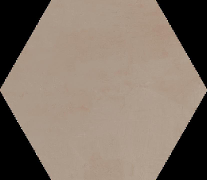 Potter's Red Clay Floor/Wall Tile (Waterjet Cut) 22.5x22.5HEX