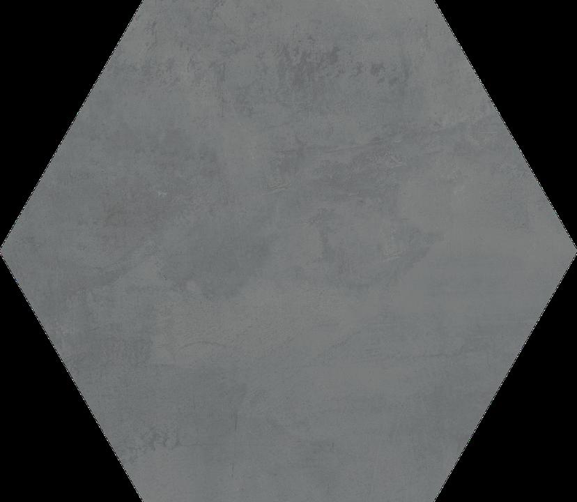 Stuyvesant Charcoal Floor/Wall Tile (Waterjet Cut) 22.5x22.5HEX