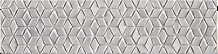 Coy Grey Glossy Listellos (Glossy) L3x12