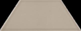 Triumphant Taupe Silk Wall Tile - Trapezoid (Silk) 4x9TPZ