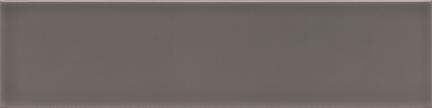 Gratitude Dark Grey Glossy Wall Tile (Glossy) 3x12