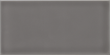 Gratitude Dark Grey Glossy Wall Tile (Glossy) 3x6