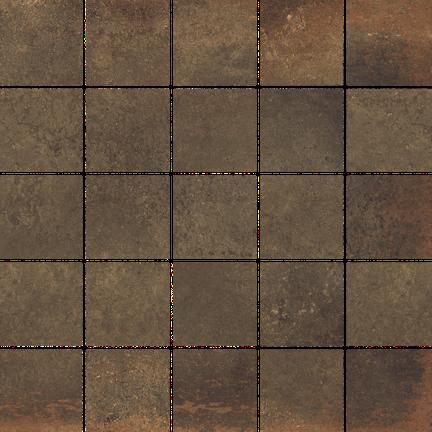 Iron Oxide 25 Piece Mosaic M12