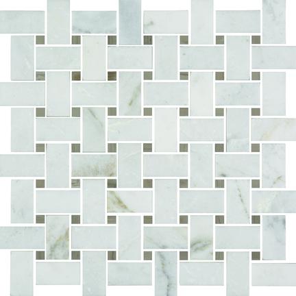 Casablanca Polished Basketweave Mosaics M12BW
