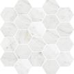 Casablanca Polished Hexagon Mosaics M3x3HEX