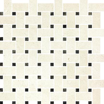Dahlia Polished Basketweave Mosaics M12BW