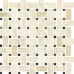 Giallo Polished Basketweave Mosaics M12BW