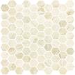 Giallo Polished Hexagon Mosaics M12HEX