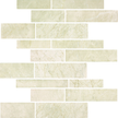 Crema Honed Random Stack Mosaics RSP12